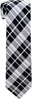 Retreez Modern Tartan Check Styles Woven Boy's Tie - 8-10 years - Various Colors