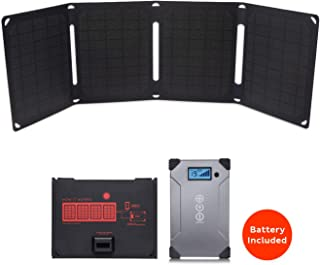 Voltaic Systems Arc 20 Watt Rapid Solar Laptop Charger, 24,000mAh | Includes a Battery Pack (Power Bank) and 2 Year Warranty | Powers Laptops Including MacBook