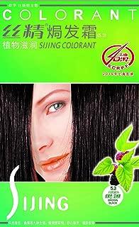 SAVOL SJ Hair Color, Ammonia-Free, Natural Black, 140ml (Brown Black (Pack of 15))