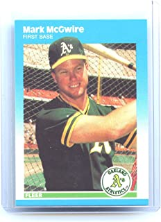 1987 Fleer Update #76 Mark McGwire Oakland Athletics Rookie Card- Mint Condition Ships in New Holder