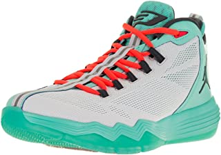 Jordan Nike Men's CP3.IX AE Pr Pltnm/Drk Gry/Hypr TRQ/Infr Basketball Shoe 12 Men US