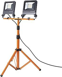 LEDVANCE Oprawa do oświetlenia roboczego LED: for podłoga, WORKLIGHTS - TRIPOD / 100 W, 220…240 V, kąt rozsyłu światła: 12...