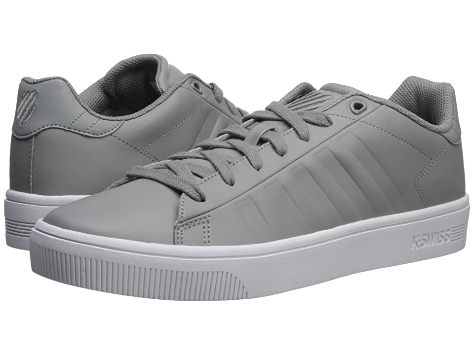 K-Swiss Court Frasco SC (Gray/White) Men