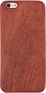 Wooden iPhone 5 5s Case,Real Wood Premium Protective Snap On Cover,Unique, Classy and Stylish Cherry Bamboo Accessory for Apple iPhone 5 and iPhone 5s Cell Phone Hard Case(red)