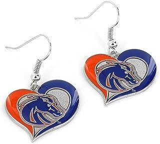 NCAA Womens NCAA Swirl Heart Earrings