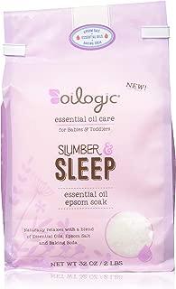 Essential Oil Epsom Salt Slumber & Sleep Blend Soak 2lb. / 32oz.