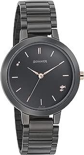 Sonata Play Analog Grey Dial Women's Watch-8141KM03