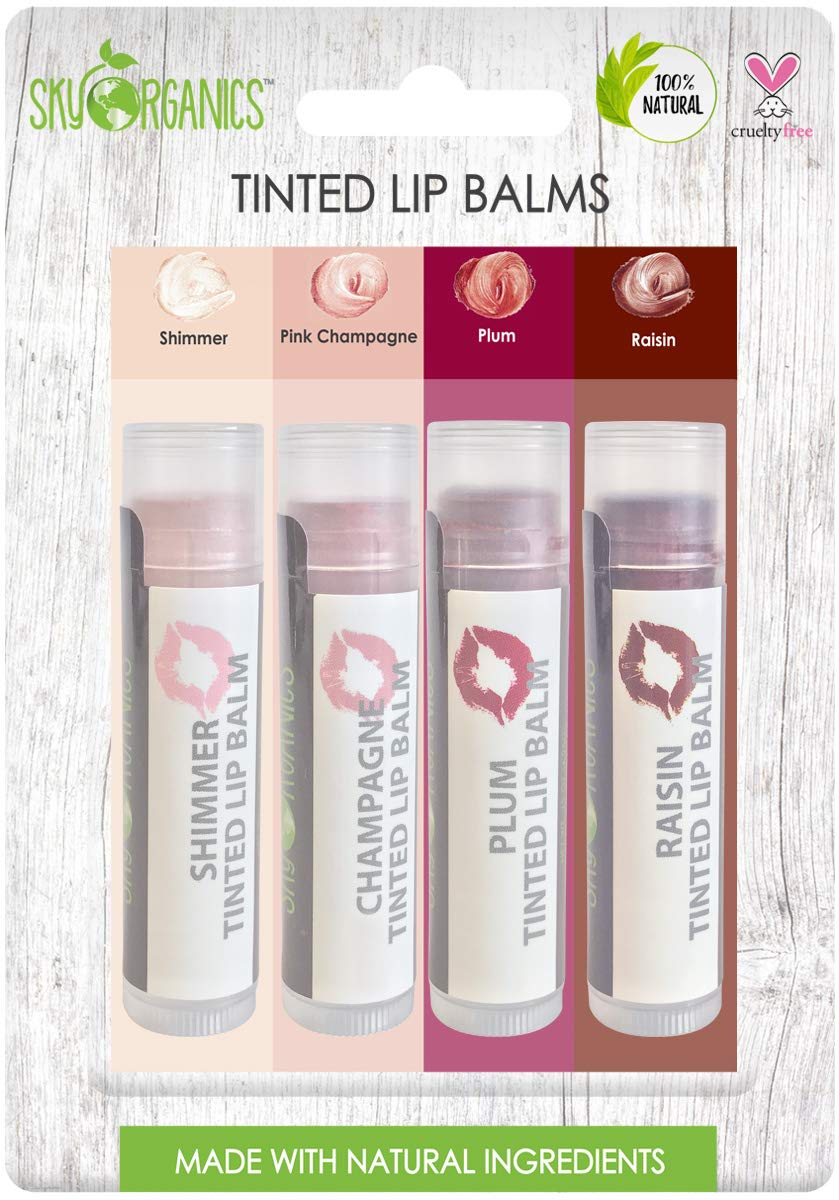 Tinted Lip Balm By Sky Organics