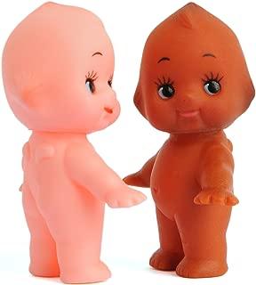 Vintage Repertory Lot of 2 Kewpie Mayo Baby Dolls Antique Vinyl Made Japan Sonny Angel Figurine 2
