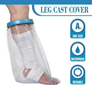 Wilsco® Waterproof Leg Cast Cover for Shower by Wilsco LLC ~ Watertight Foot and Leg Cover