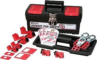 Brady Personal Breaker Lockout Toolbox Kit, Padlocks Not Included