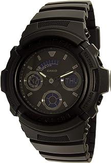 Casio G-shock Mens Black out Series All Black Analog Digital Mens watch AW591BB-1