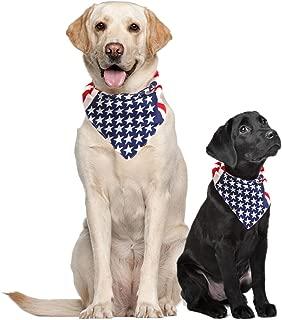 USA Dog Bandana Large American Flag Bandana American Flag Dog Bandanas for Dogs Bandanas for Dogs Large Medium or Small Dog Collar Bandana Puppy Bandana American Dog Bandana Scarf