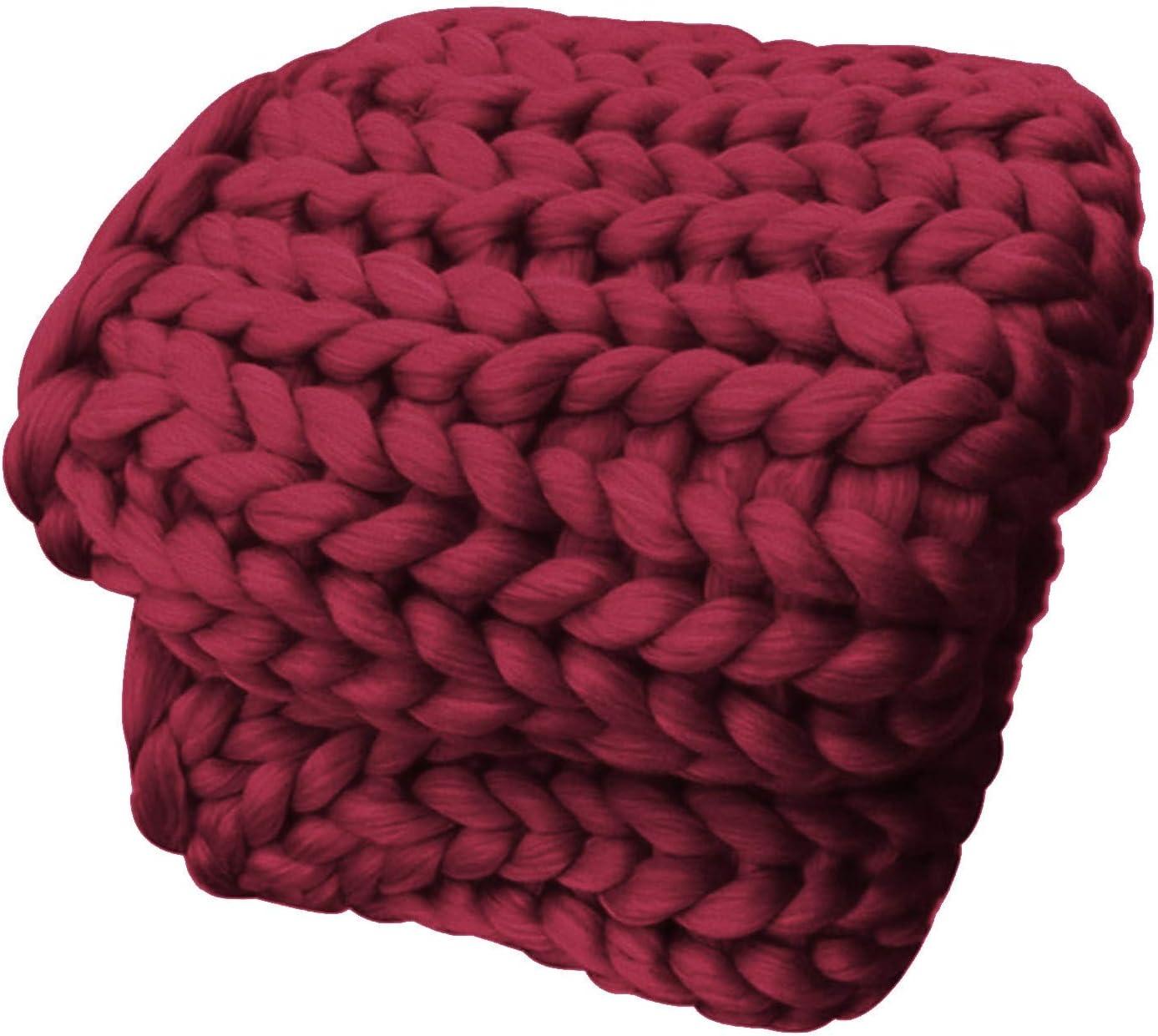 HDGZ wholesale Chunky Knit Blanket Handmade Soft Popular brand by Kn