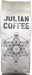 Julian Coffee - Specialty Puerto Rican Coffee, Shade Grown On A Family Farm, Single Origin, Light Medium Roast, 10 oz Bag (Whole Bean, 1 Pack)