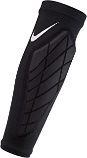 Nike Hyperstrong Padded Forearm Shivers - Pair, (Black/White, Small)