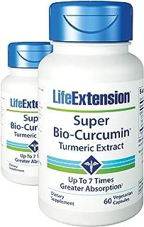 Life Extension Super Bio-Curcumin 400 mg 60 Vegetarian Capsules (2 Pack)