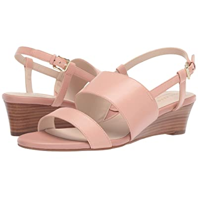 Cole Haan Annabel Grand Wedge Sandal (Dusty Pink) Women