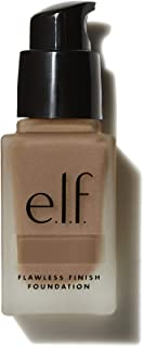 e.l.f. Flawless Finish Foundation, Semi-Matte, Long-Lasting Liquid Makeup, SPF 15, Caramel, 0.68 Fluid Ounces