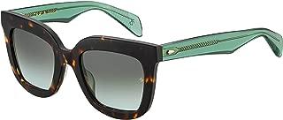 Sunglasses Rag & Bone Rnb 1002 /S 0PHW Havana Green / IB gray green lens