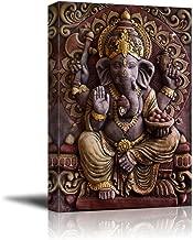 wall26 - Sculpture of Gannesa Hindu God - Canvas Art Wall Decor - 32