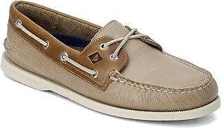 Sperry Men's Topsider, Authentic Original Cross Lace Boat Shoe Navy/Blue 8 M