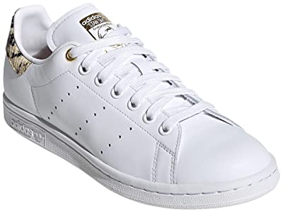 adidas Originals Stan Smith (Footwear White/Scarlet/Gold Metallic) Women