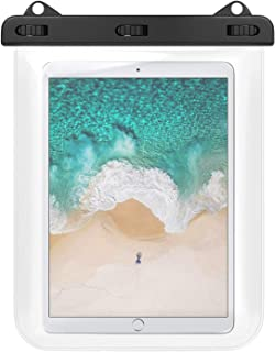 防水ケース HeySplash 防水カバー タブレット 12インチ以下 タッチパネル操作可 iPad Air 4 2020 10.9、iPad Pro 11 2021/2020/2018、iPad Air 3 10.5、Surface Go 2...