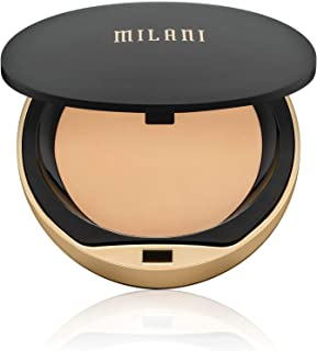 Milani Conceal + Perfect Shine-Proof Powder - Natural Light (0.42 Ounce) Vegan, Cruelty-Free Oil-Absorbing Face Powder that Mattifies Skin and Tightens Pores