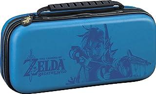 Nintendo Switch Game Traveler Deluxe Travel Case Zelda Breath of the Wild Link Blue