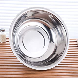 Stainless Steel Bowl, 1.5QT Salad Bowl, Metal Bowls, Stainless Steel Basin, Heavy Duty Deeper Edge Mirror Finish Dishwashe...
