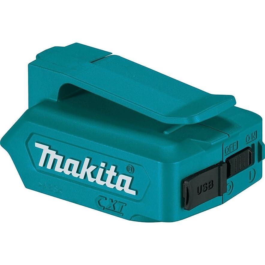 ミサイルスクラップ光のマキタ(Makita)  10.8Vスライドバッテリ専用 USB用アダプタ ADP06