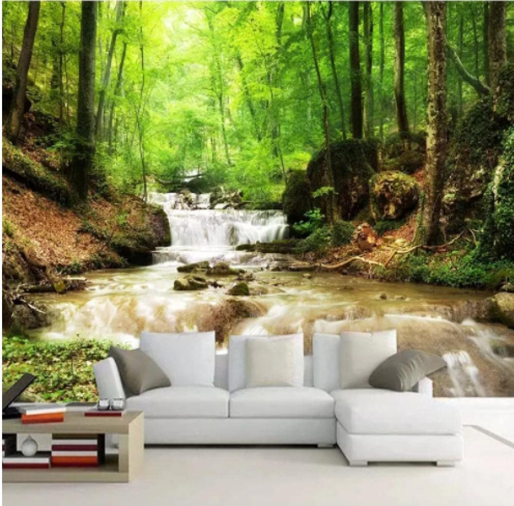 At the price Custom Photo Wallpaper Hd Waterfall Water Oakland Mall Landscape Mural Living