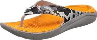 crocs Literide Graphic Flip Flops Thong Sandals