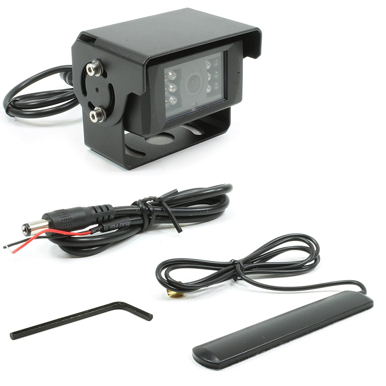 Rostra 250-8153 Cmos Color Camera with Wireless Video Transmitter/Built-in Microphone/Infrared Led's
