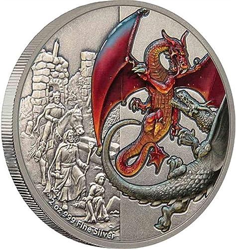 la calidad primero los consumidores primero 2019 Nation of of of Niue, rojo Dragon Proof, 2 Troy Ounces (62.2g) .999 plata, 2000 Minted  alta calidad general