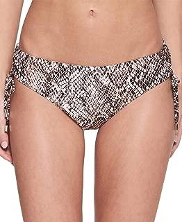 Calvin Klein Nectar Chameleon Printed Side-Tie Bikini Bottoms Women?s Swimsuit (Nectar, M)