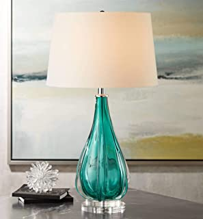 Best turquoise glass table lamps Reviews