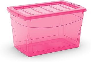 Kis 8610000 0656 03 Boîte de Rangement Omni Box 30 litres en Fuchsia, Plastique, 47x30x27,5 cm