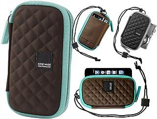 Acme Made Fillmore Azul, Marrón - Fundas para teléfonos móviles (Cualquier Marca, Azul, Marrón)