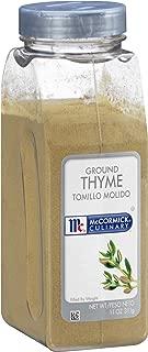McCormick Culinary Ground Thyme, 11 oz