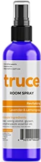 TRUCE Room and Linen Spray, Natural Aromatic Mist Made with Simple Pure Essential Oils, Relax Your Body & Mind, Refreshing Air Freshener Odor Eliminator (Lavender & Lemongrass)