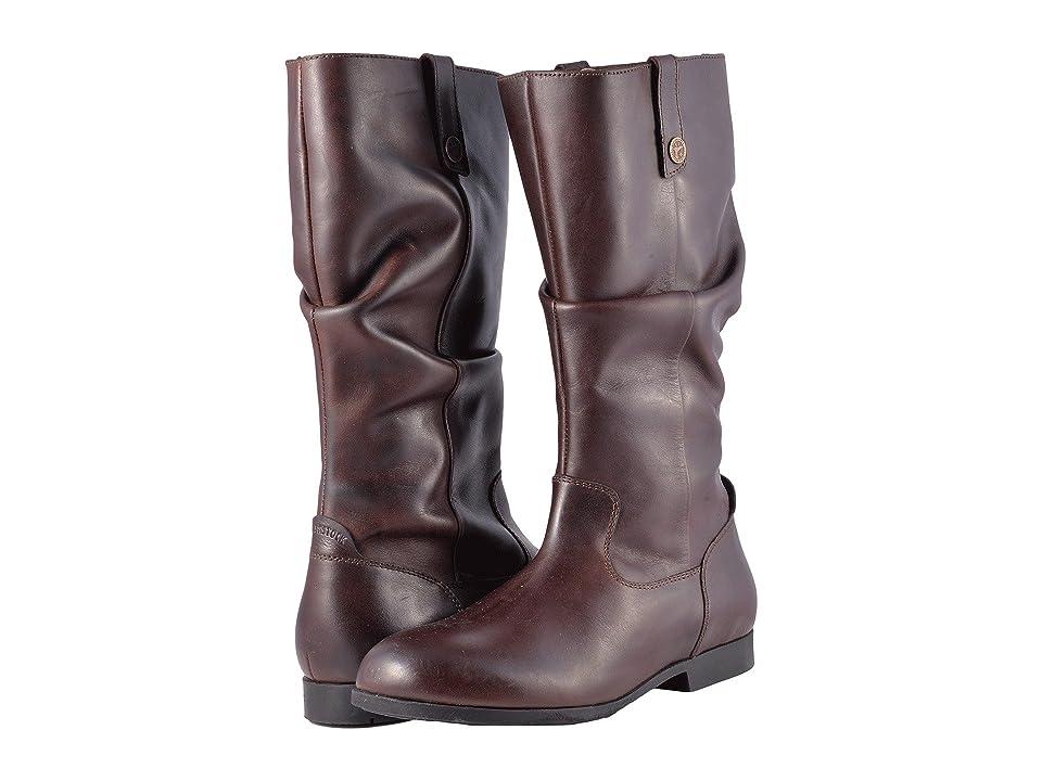 Birkenstock Sarnia High (Espresso Leather) Women
