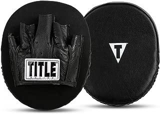 Title Boxing Razor Punch Mitts 2.0, Black