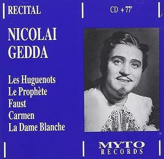 Meyerbeer Gounod Bizet Boieldieu: Nicolai Gedda Sings Arias From Les Huguenots W.Austrian R