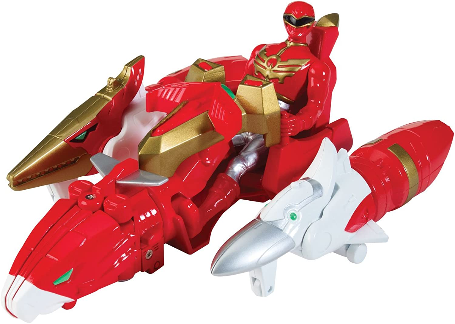 Power Rangers Megaforce Sky Bredhers Zord Vehicle And Red Ranger