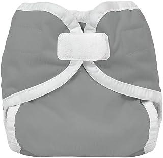 Thirsties Reusable Cloth Diaper Cover, Hook & Loop Closure, Fin Newborn/Preemie
