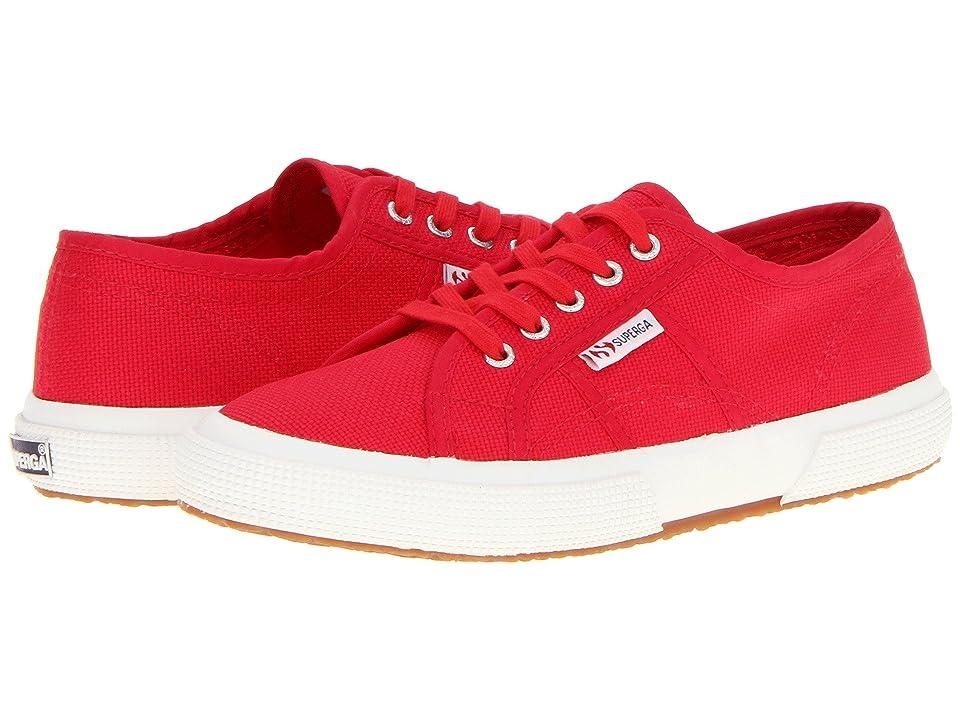 Superga Kids 2750 JCOT Classic (Toddler/Little Kid/Big Kid) (Maroon Red) Kids Shoes