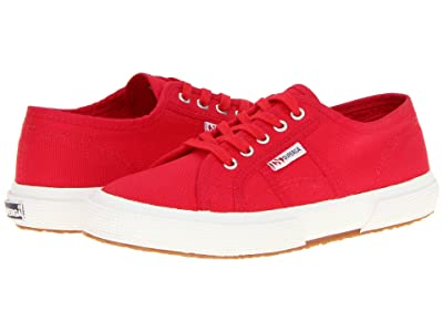Superga Kids 2750 JCOT Classic (Toddler/Little Kid/Big Kid) (Maroon Red) Kids Shoes