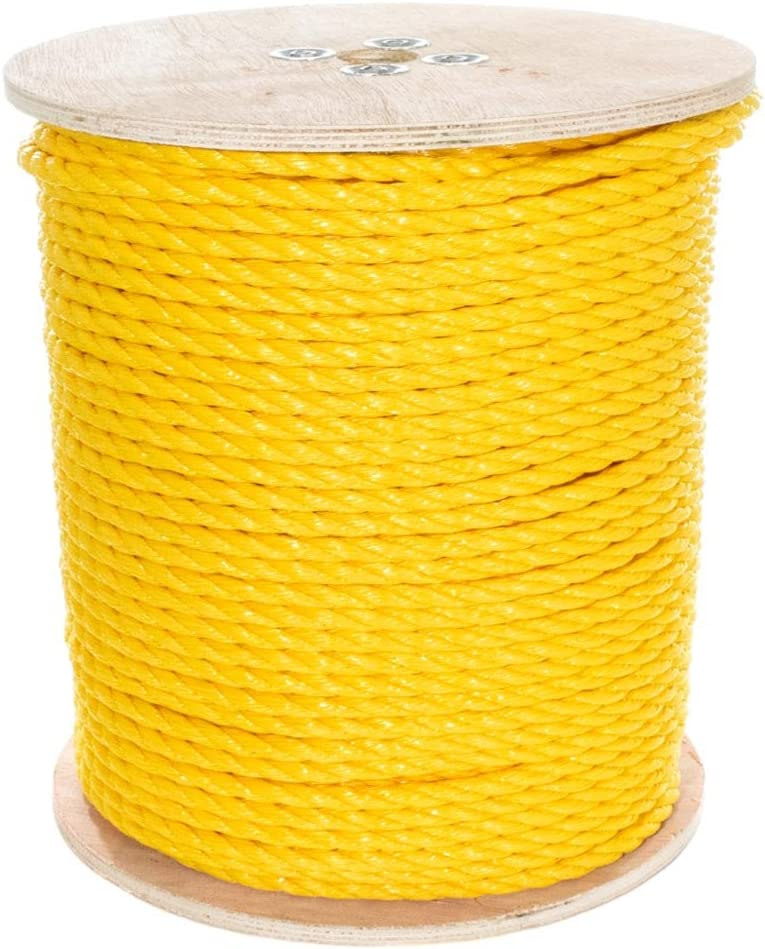 Twisted Polypropylene Rope Super Special SALE held Floating Polypro - Marine Max 76% OFF Cord Nauti